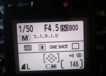 fotocamera instellingen