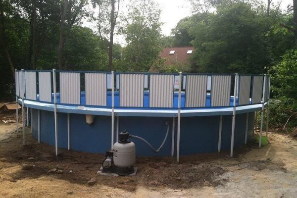 swimming pool install
