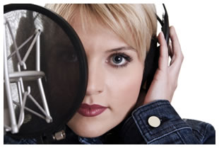 voiceover-woman-microphone-pop-filter