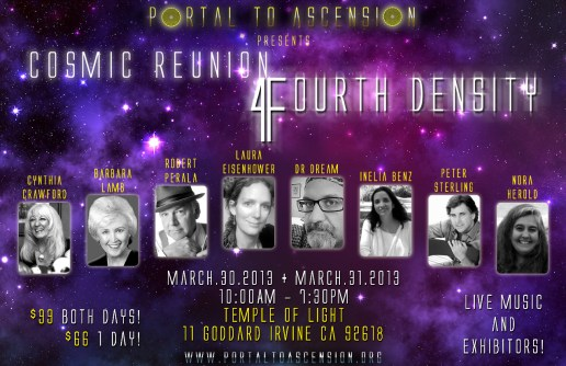 Cosmic Reunion Flier New
