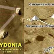 MARS & EARTH PRESENT PARALLEL POWER PLANT PYRAMIDS, SPACEPORTS & SCULPTURES