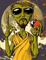 alien_jesus_by_damage_ink-d4xq2pc