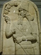 Anunnaki_King_Wrist Watch Cross on Chest Gate