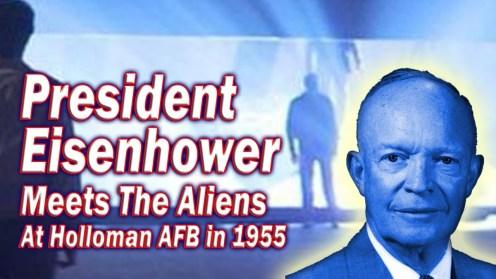 Eisenhower Meets Aliens Holloman 1955
