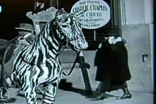 chaplin time traveller footage