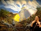 Shocking UFO crash