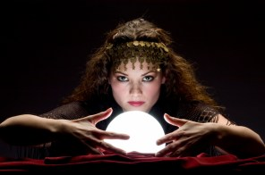 psychic with crystal ball 1