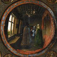 Arnolfini-portrait-mirror
