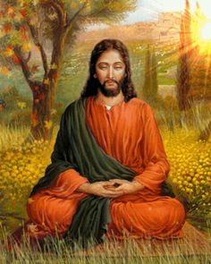 Jesus Meditating a672d64827ec1515e64890b19ccd0505