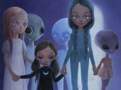 Hybrid children greys
