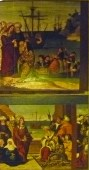 Eight pieces of the altarpiece of Mary Magdalen