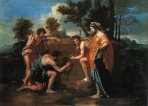 NicolasPoussin-The-Shepherds-of-Arcadia-1638