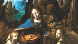 Virgin of Rocks (London and Louvre) -Leonardo Da Vinci - 13d6-620x348
