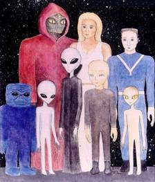 Extraterrestrials alien-species