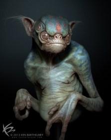 Extraterrestrials alien_creature_by_kenbarthelmey-d6czld6