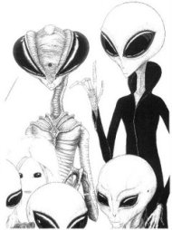 Extraterrestrials spacefamily