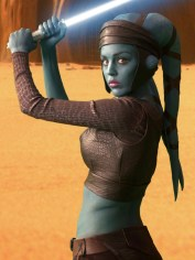 Blue Aliens Aayla