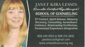 Janet Kira Lessin Business Card Counseling Capture