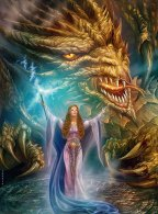 Princess-Amaleh-and-Dragon