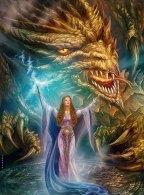 Princess-Amaleh-and-Dragon