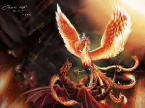 Red Dragon Phoenix c92385891222fc6dc5a3d88334fab6e4