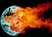 Armageddon Blast Earth Exploding Fire Planet Space