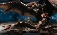 dragons stars galaxies monster hunter rathalos 1280x800 wallpaper_www.wallpaperhi.com_95