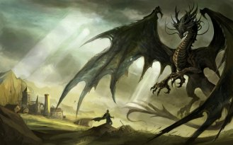 medieval_black_dragon_by_damian97-d4sr7dm