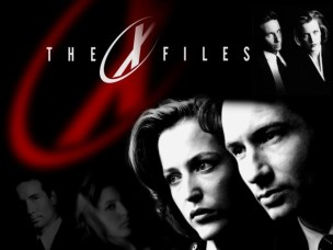 x-files-black & white