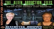 Alien-Abduction-Files-Kathleen-Marden-Denise-Stoner-Restricted-Airspace-Tina-Marie-Caouette-KCOR-Digital-Radio-Network-Flyer