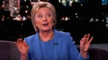 Hillary-Clinton on Kimmel