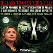 Hillary X Files images-1