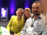 Glenn Bogue Janet Lessin Mark Sorensen Alien Cosmic Expo 2016 IMG_0139