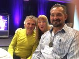 Glenn Bogue Janet Lessin Mark Sorensen Alien Cosmic Expo 2016 IMG_0147