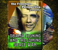 Who is this man we call the President? Will he cause a Constitutional crisis? What's hidden within his name and his statements? Is he the coming Anti-Christ predicted by Nostradamus? Are we witnessing the rise of the Fourth Reich? Or are things much stranger than we thought? This 2 disk set includes a DVD of Freeman's presentation, Obama, Cloning and the Coming Space War and a CD with 10 hours of Freeman's radio interviews in MP3 format. Explore revelations of Lucifer, occult rituals hidden as political speech, and the acceleration of the weaponization of space for a coming space war.