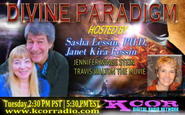 Jennifer Stein on Divine Paradigm 13931586_1073123162768701_922458812_o