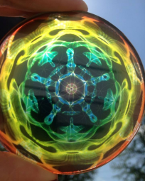 Sheldon Bird disk rainbow