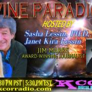Jim Marrs ~ 11/15/16 ~ Divine Paradigm ~ KCOR Radio ~ Hosts Janet Kira & Dr. Sasha Lessin