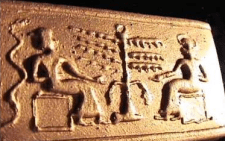 Trees of Life & Knowledge Z Adam-Eve Sumerian