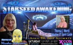 Theresa J Morris on Starseed Awakening 18055894_1325673910846957_7478245685104166596_o