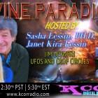 Jim Ledwith (UFO Jim) ~ 05/02/17 ~ Divine Paradigm ~ KCOR ~ Janet Kira Lessin & Dr. Sasha Lessin