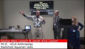 Lewis Michael Rhinehart & Janet Kira Lessin & Dr Sasha Alex Lessin Mars Conference 2017 Mobile AL Capture