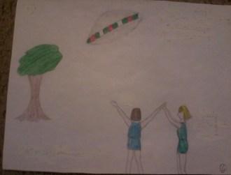 Nancy Tremaine & Cindy 1961 UFO Encounter IMG_20150708_191347