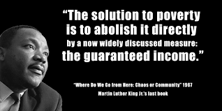 Basic Income Martin Luther King images