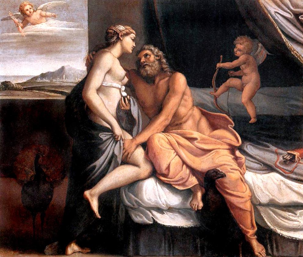 Zeus and sex