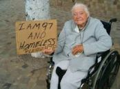 Homeless 97 year old images
