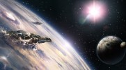 48845_3d_space_scene_spaceship_gian_spaceships_leaving_planet