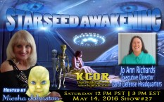 Jo-Ann-Richards-Executive-Director-Earth-Defense-Headquarters-Starseed-Awakening-Miesha-Johnston-KCOR-Digital-Radio-Network