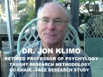 Dr. Jon Klimo, FREE