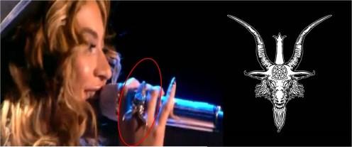 Illuminati Beyonce_Baphomet_ring